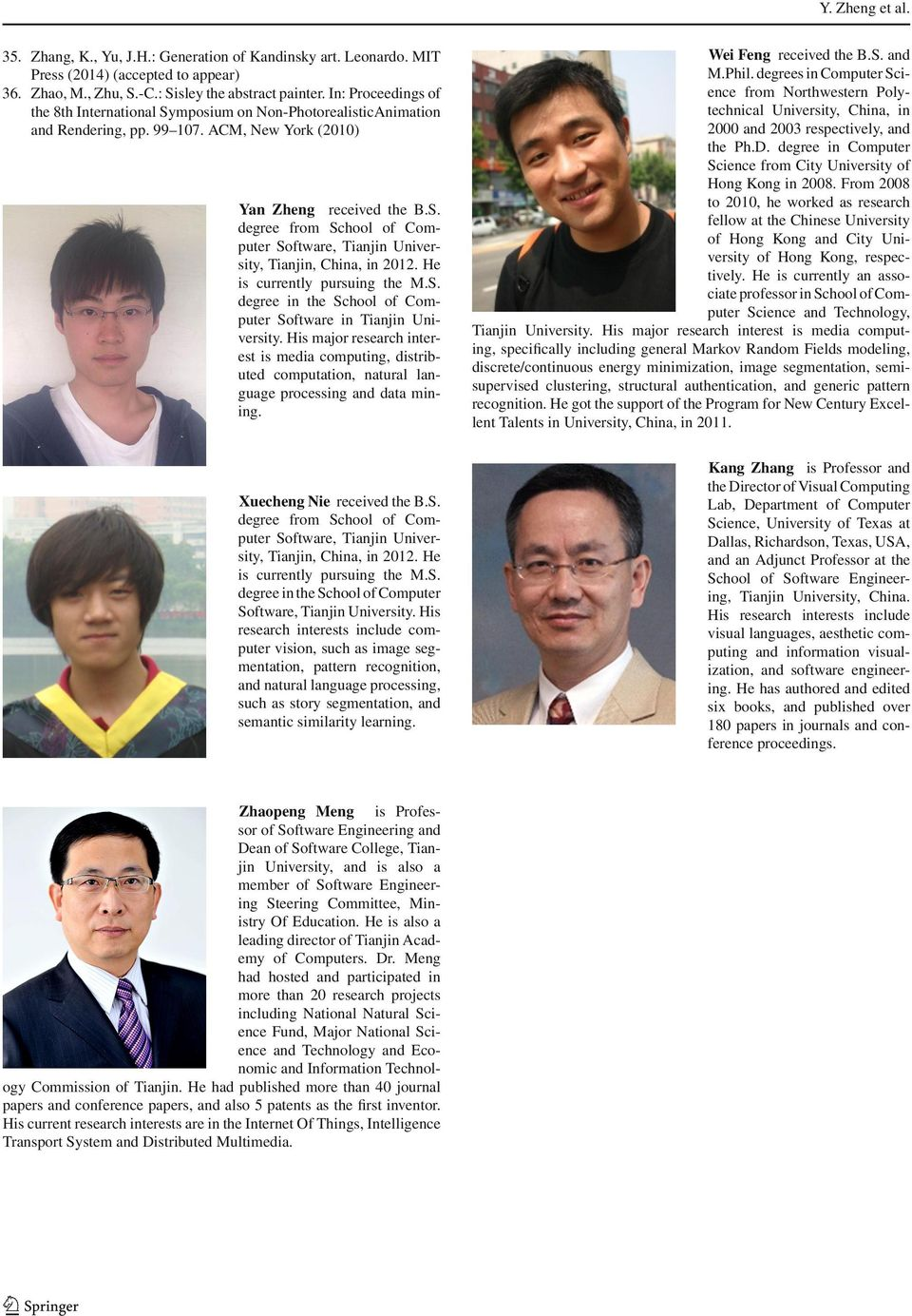 He is currently pursuing the M.S. degree in the School of Computer Software in Tianjin University.