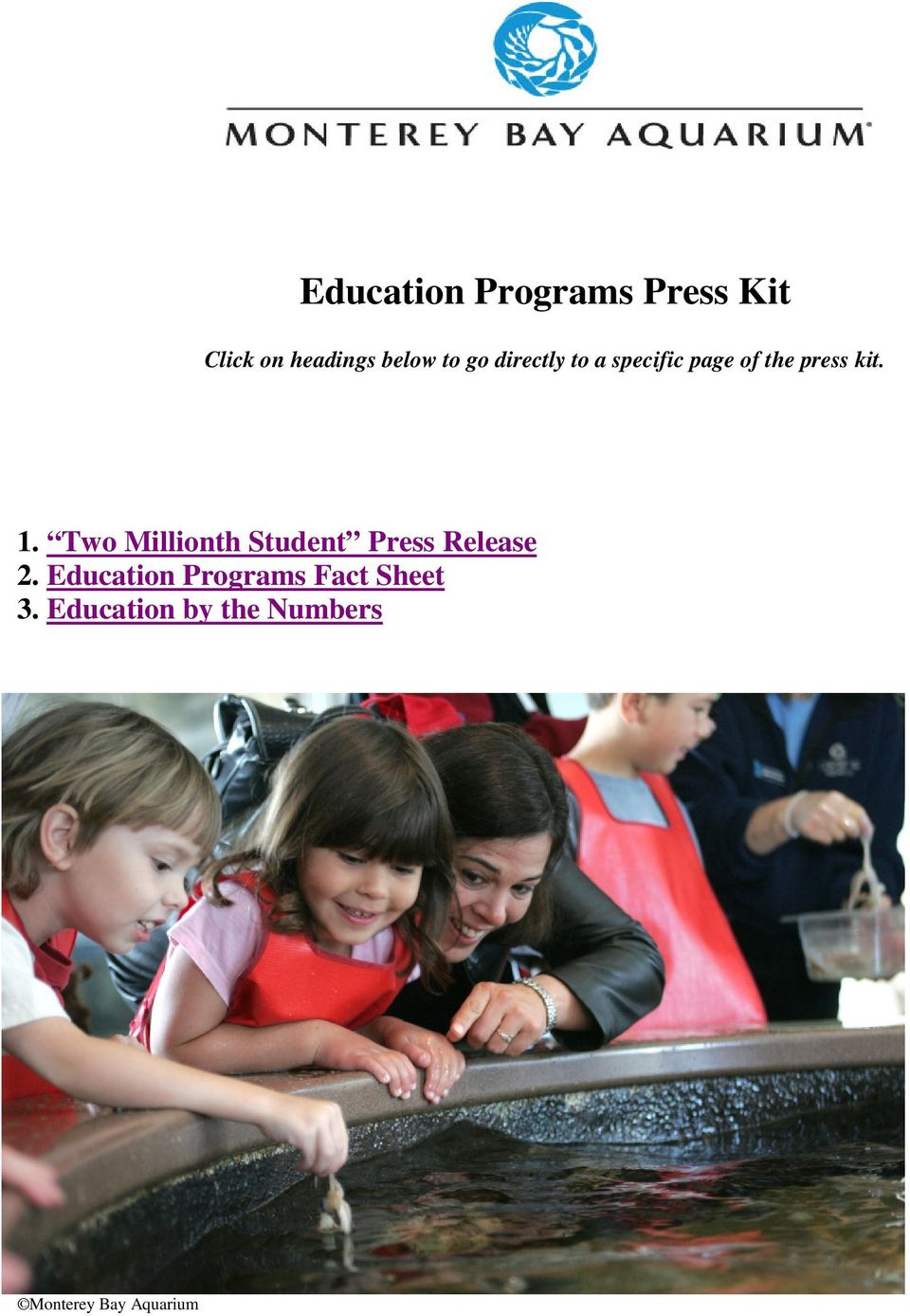 Two Millionth Student Press Release 2.