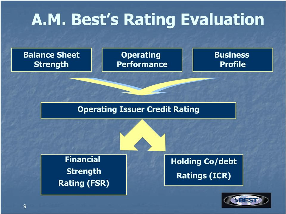 Profile Operating Issuer Credit Rating