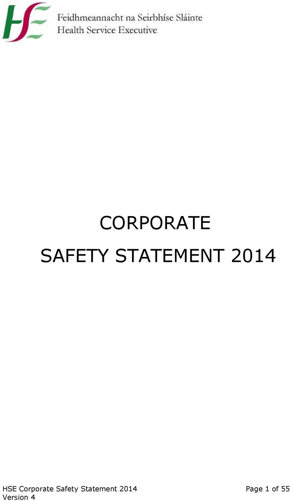 Corporate Safety