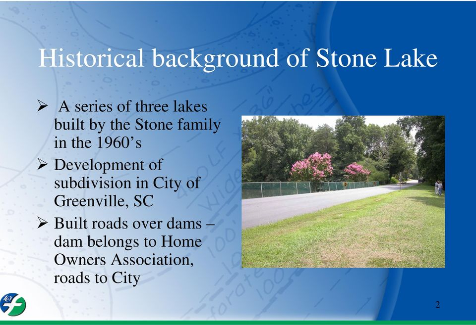of subdivision in City of Greenville, SC Built roads over