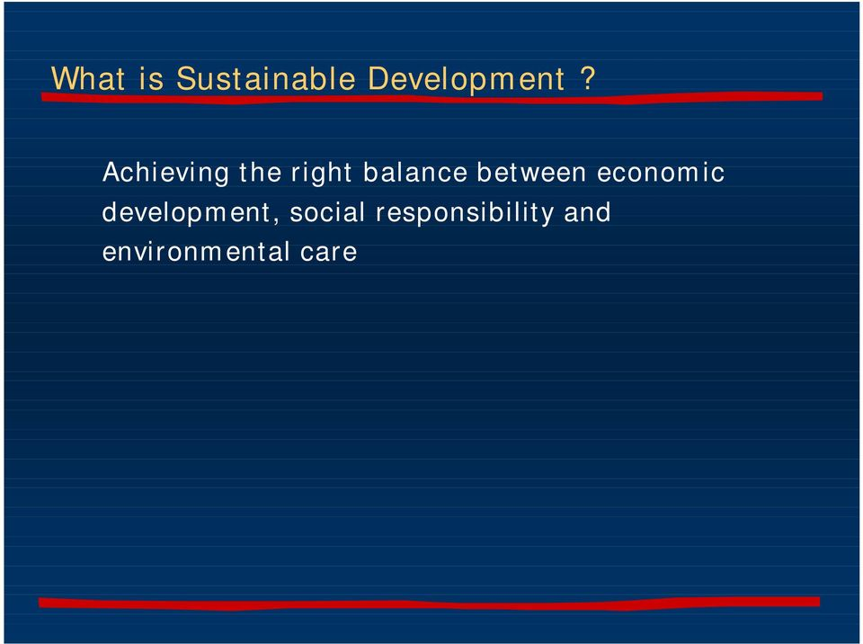 between economic development,