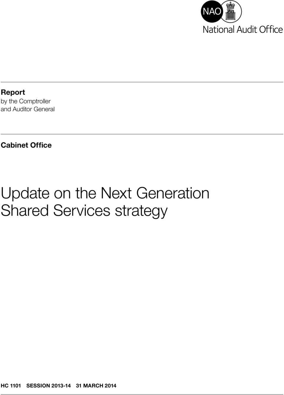 Next Generation Shared Services