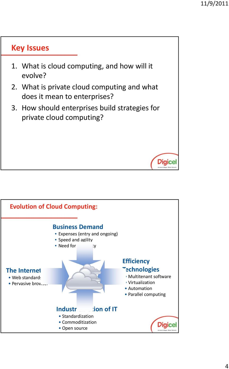 How should enterprises build strategies for private cloud computing?