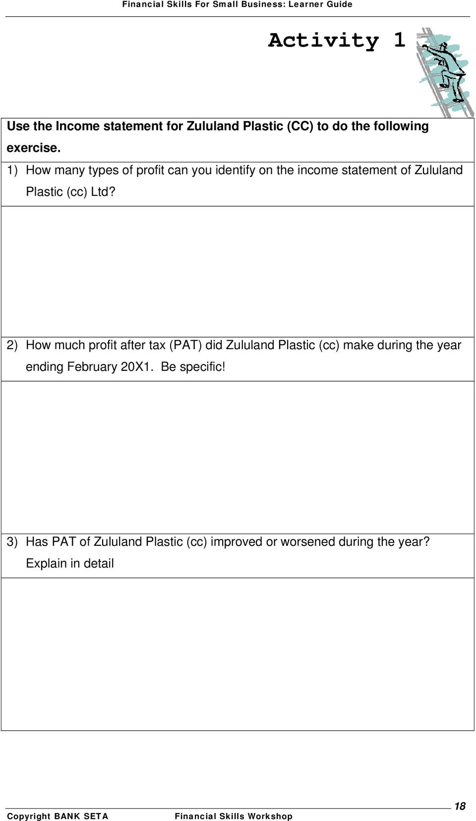 2) How much profit after tax (PAT) did Zululand Plastic (cc) make during the year ending February