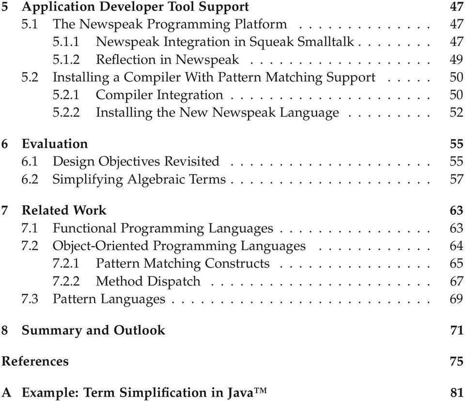 technology of object oriented languages systems and architectures dhondt theo
