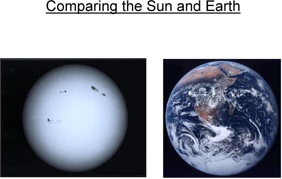 and Earth