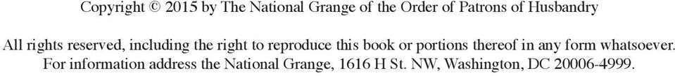 Journal of proceedings of the national grange of the order - National grange of the patrons of husbandry ...