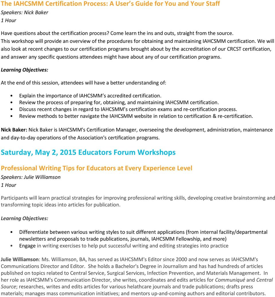 Saturday May 2 2015 Hands On Labs And Workshops Pdf