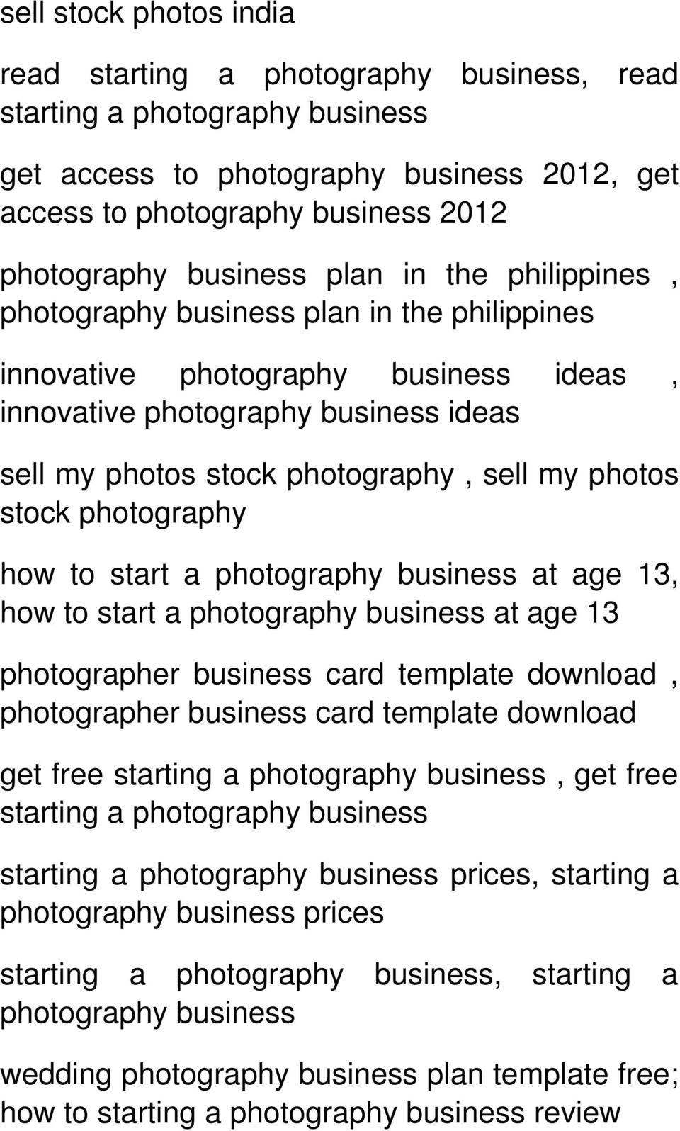13, how to start a at age 13 photographer business card template download, photographer business card template download get free