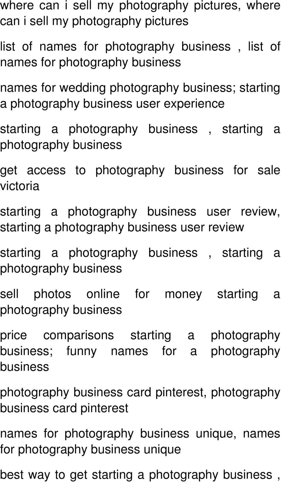 review starting a, starting a sell photos online for money starting a price comparisons starting a photography business; funny names