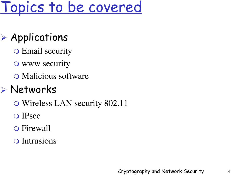 CS549: Cryptography and Network Security - PDF