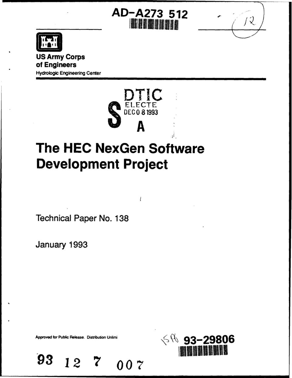 Software Development Project Technical Paper No.