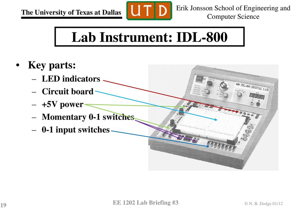 IDL-8 Momentary - switches - input