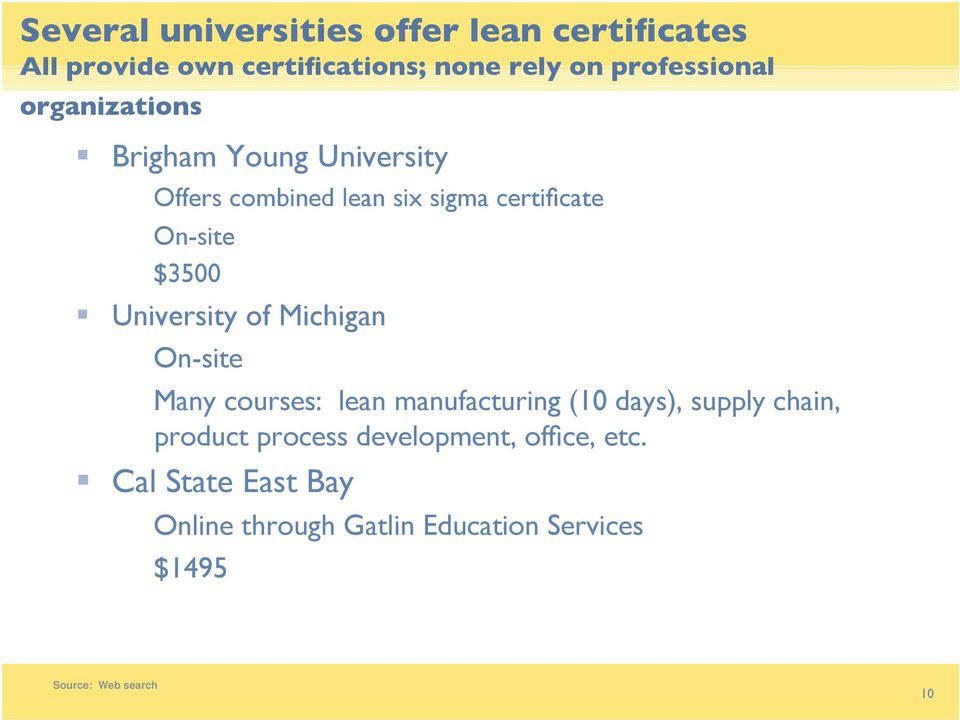 Old Fashioned Universities Offering Six Sigma Certification Photos