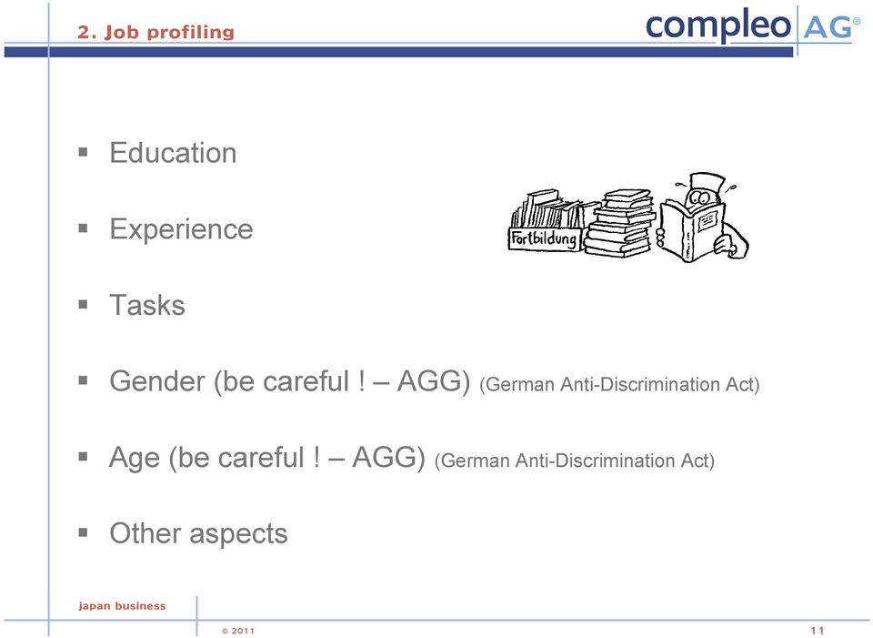AGG) (German Anti-Discrimination Act) Age