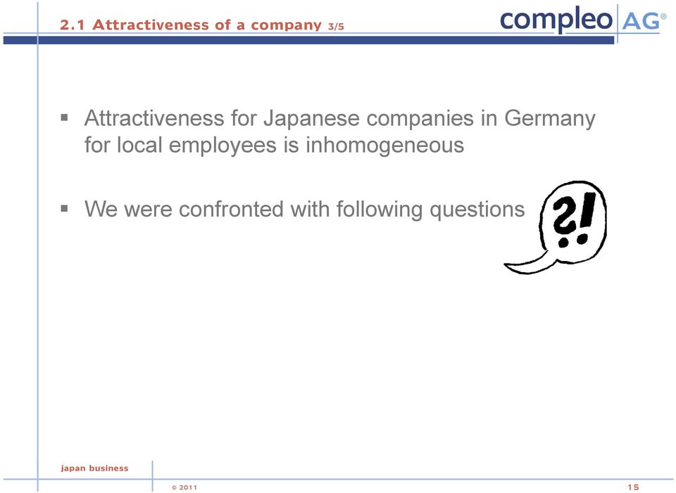 Germany for local employees is