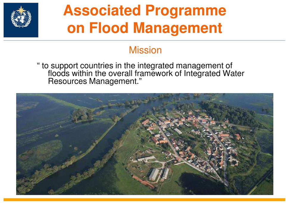integrated management of floods within the