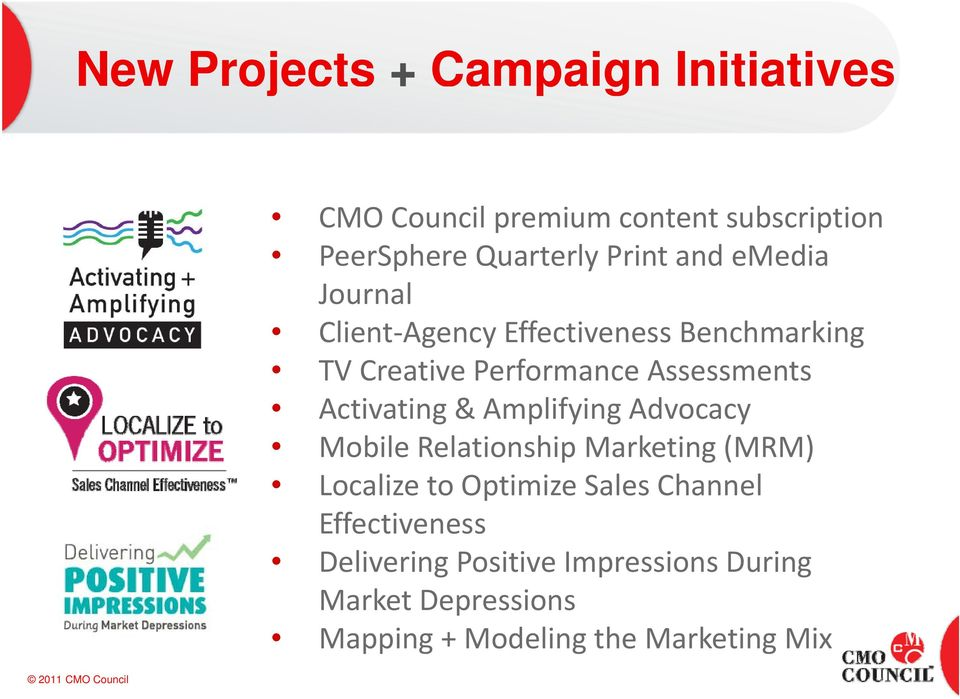 Activating & Amplifying Advocacy Mobile Relationship Marketing (MRM) Localize to Optimize Sales