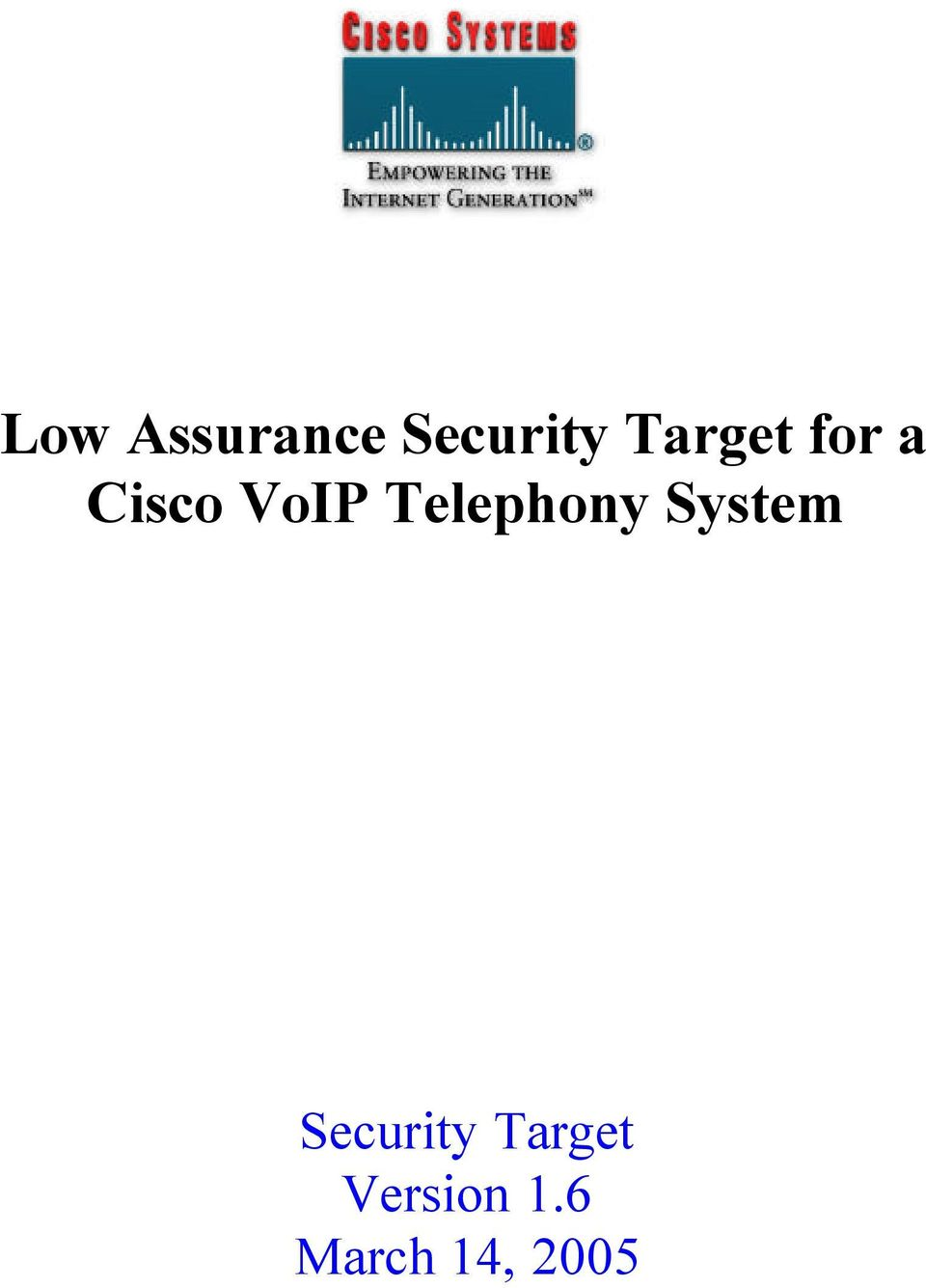 Telephony System Security