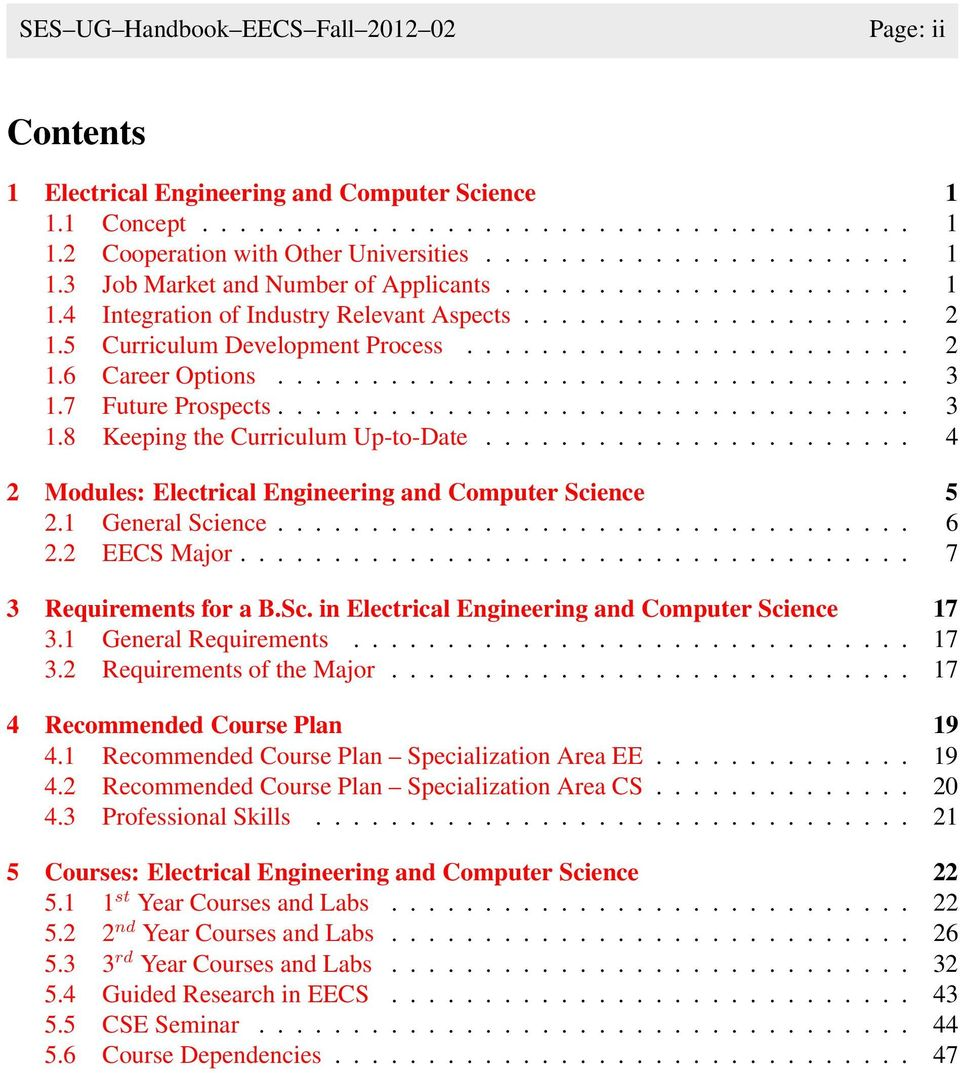 Electrical Engineering and Computer Science - PDF
