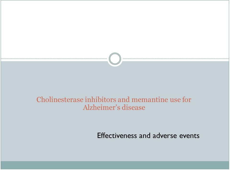 use for Alzheimer s