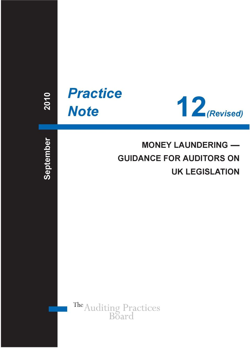 LAUNDERING GUIDANCE FOR