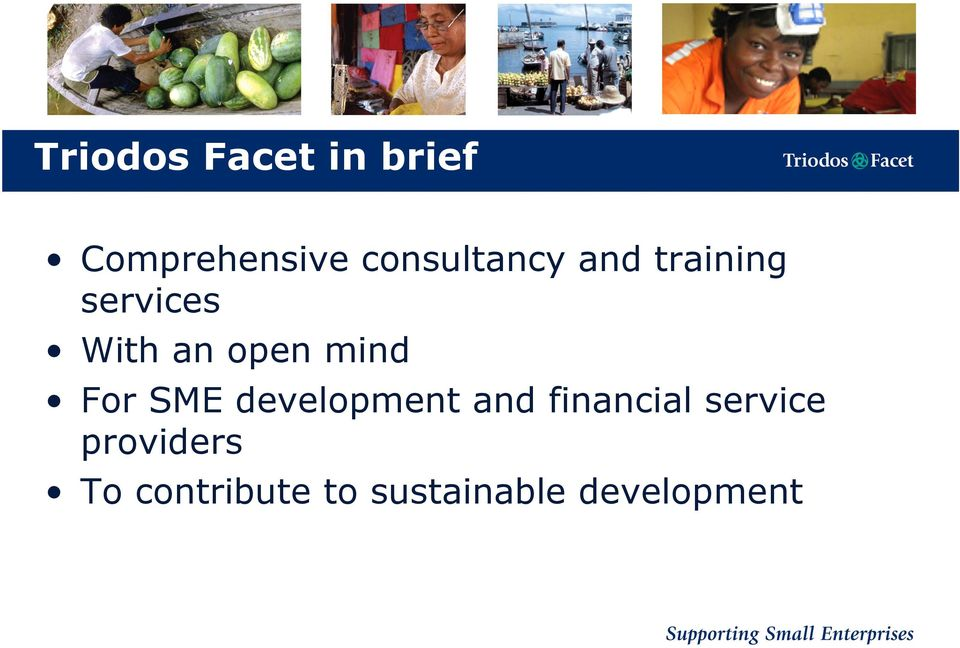 open mind For SME development and financial