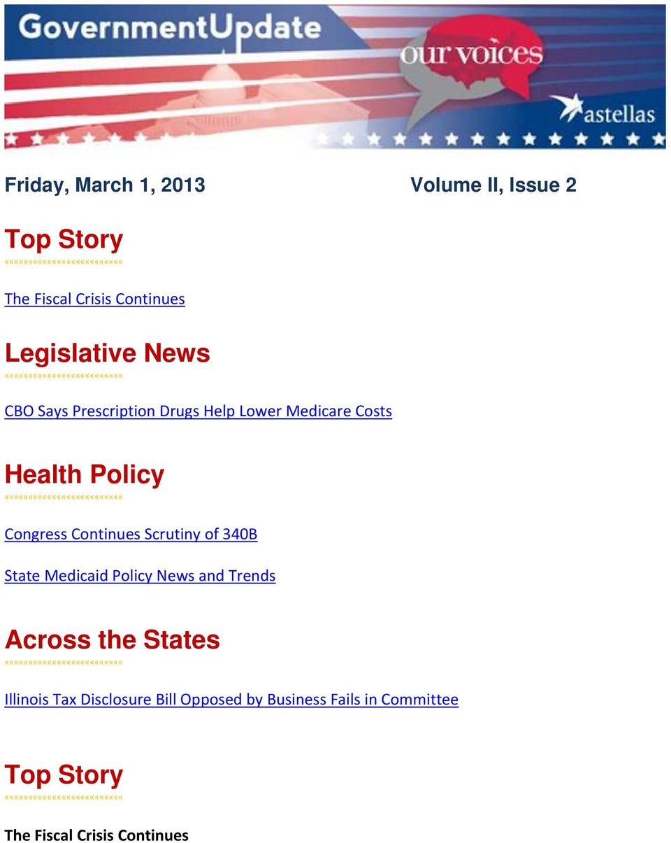 Continues Scrutiny of 340B State Medicaid Policy News and Trends Across the States
