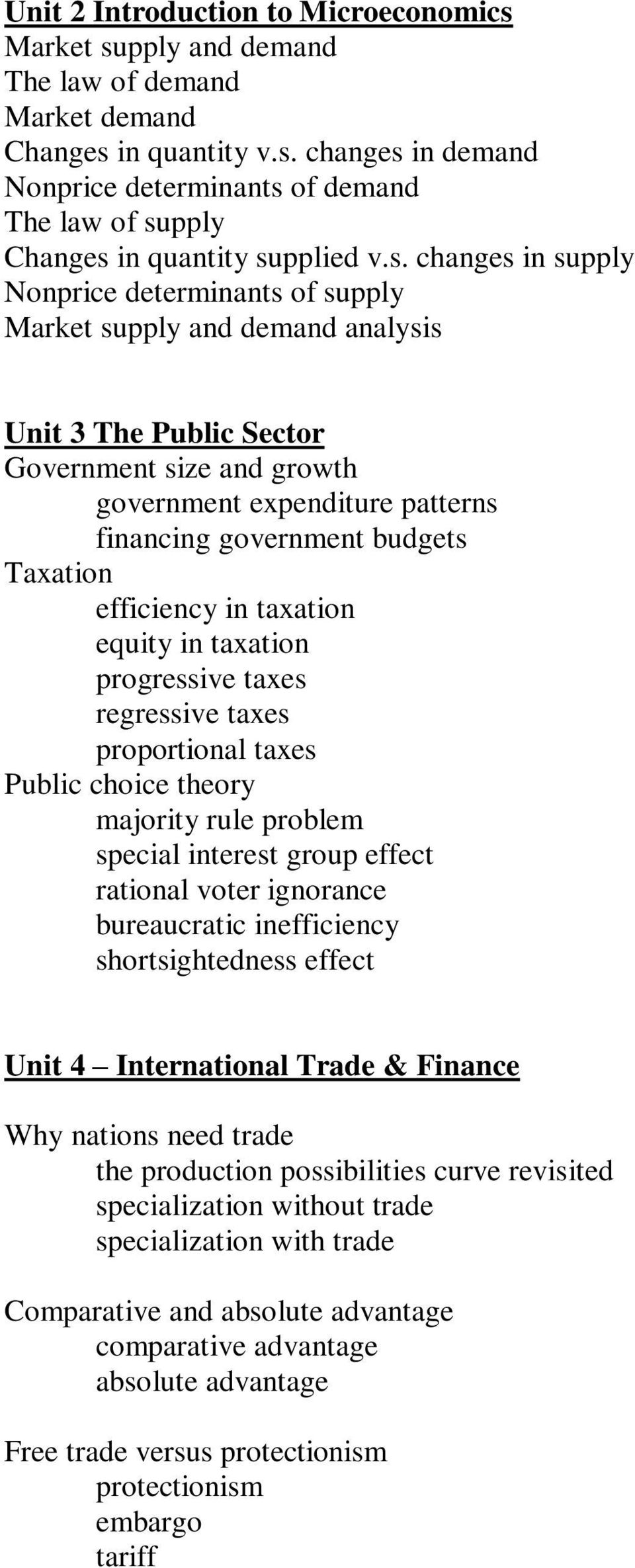 Taxation efficiency in taxation equity in taxation progressive taxes regressive taxes proportional taxes Public choice theory majority rule problem special interest group effect rational voter