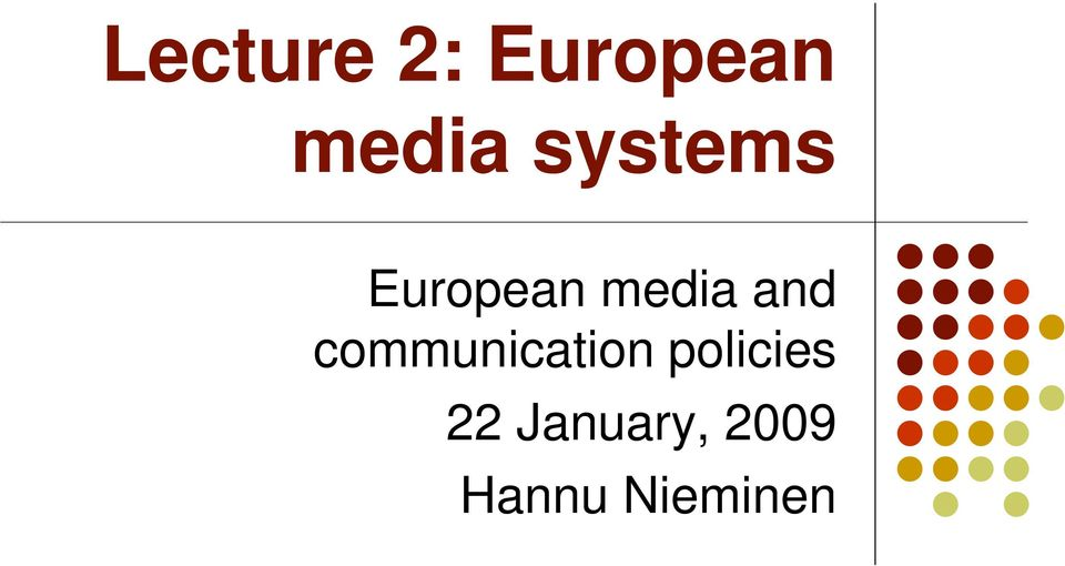 communication policies 22