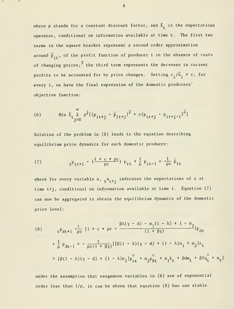 exponential equation for compensation cost pdf