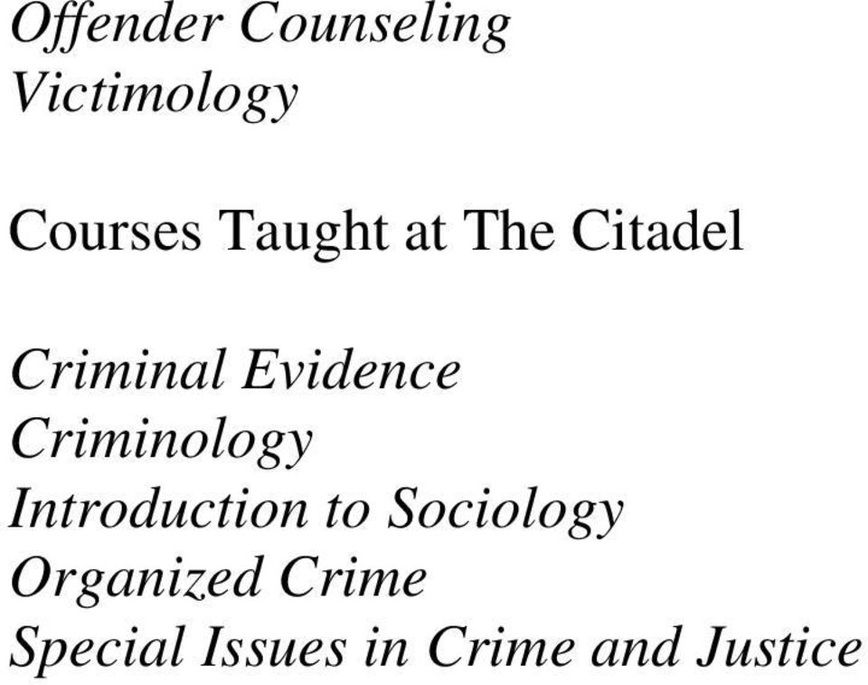 Criminology Introduction to Sociology