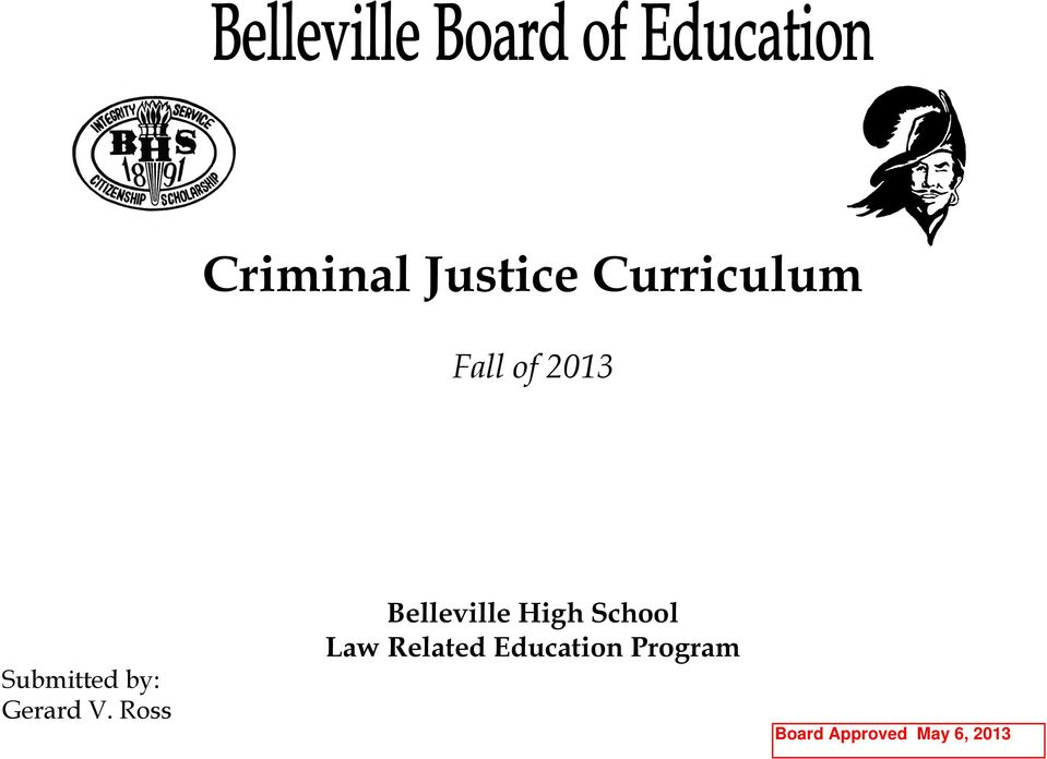 Ross Belleville High School Law