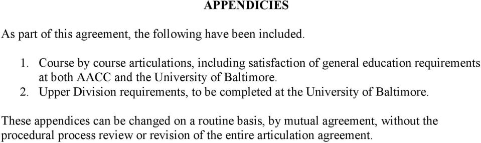AACC and the. 2. Upper Division requirements, to be completed at the.