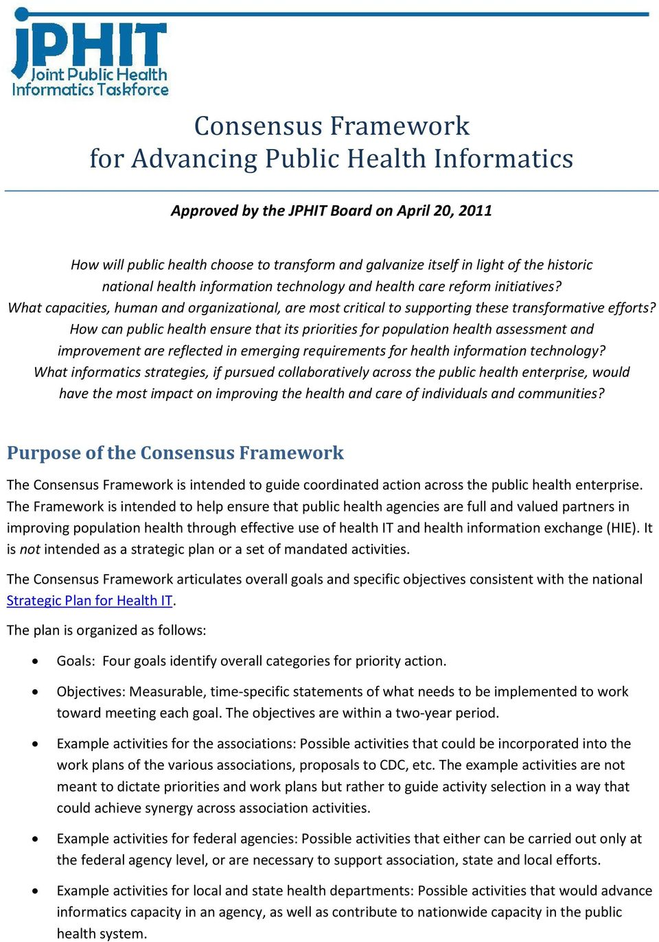 How can public health ensure that its priorities for population health assessment and improvement are reflected in emerging requirements for health information technology?