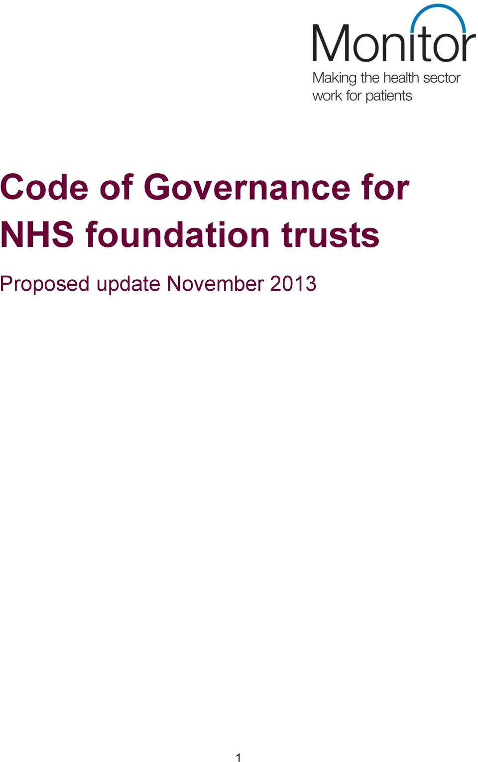 trusts Proposed