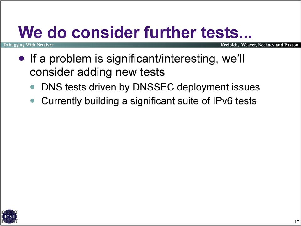 consider adding new tests!