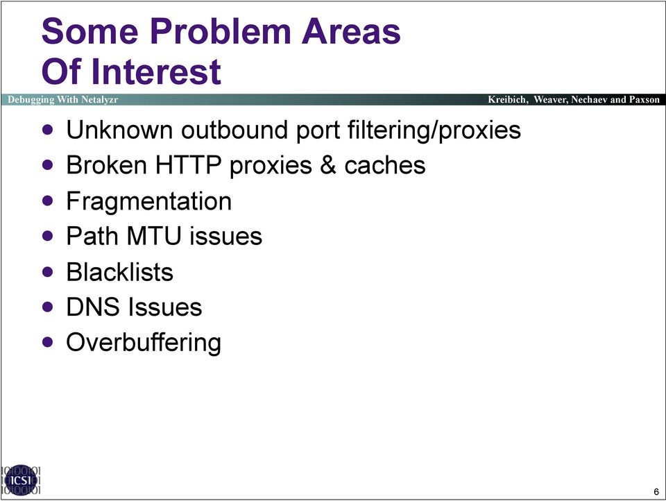 Broken HTTP proxies & caches! Fragmentation!