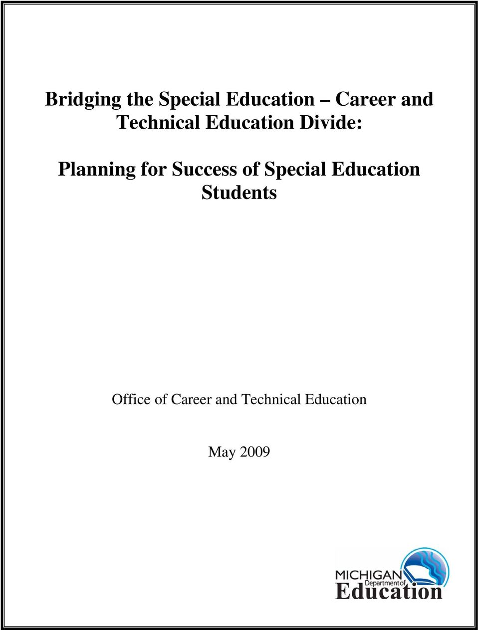 Success of Special Education Students