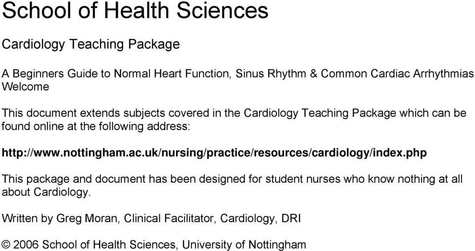 http://www.nottingham.ac.uk/nursing/practice/resources/cardiology/index.