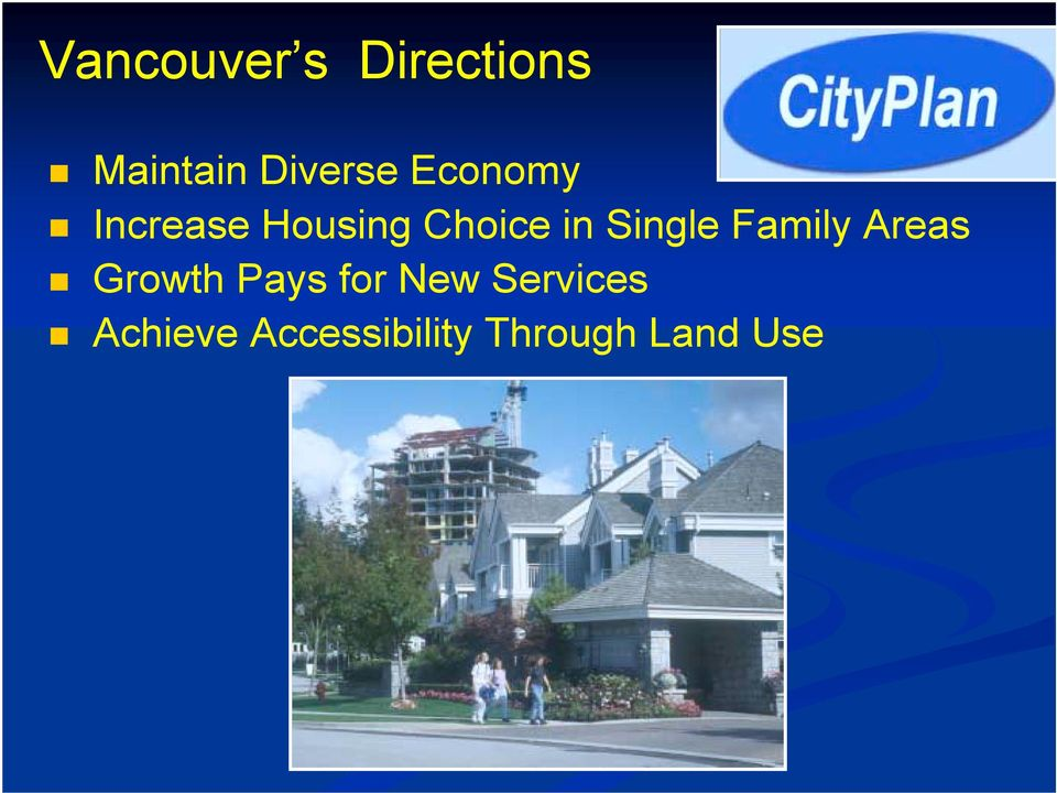 Increase Housing Choice in Single Family