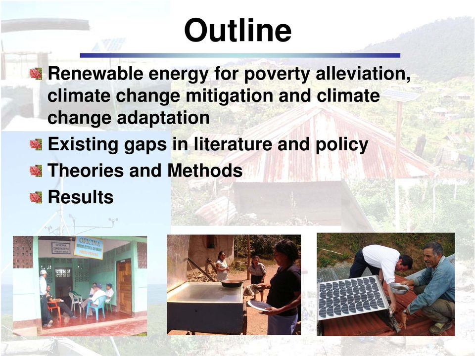 climate change adaptation Existing gaps in