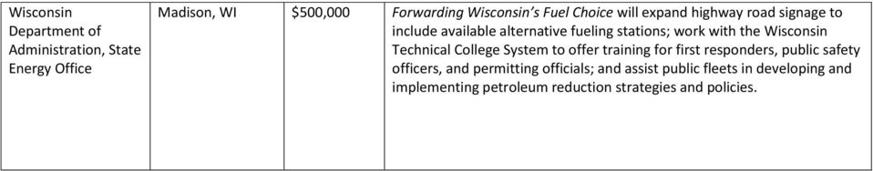 Wisconsin Technical College System to offer training for first responders, public safety officers, and