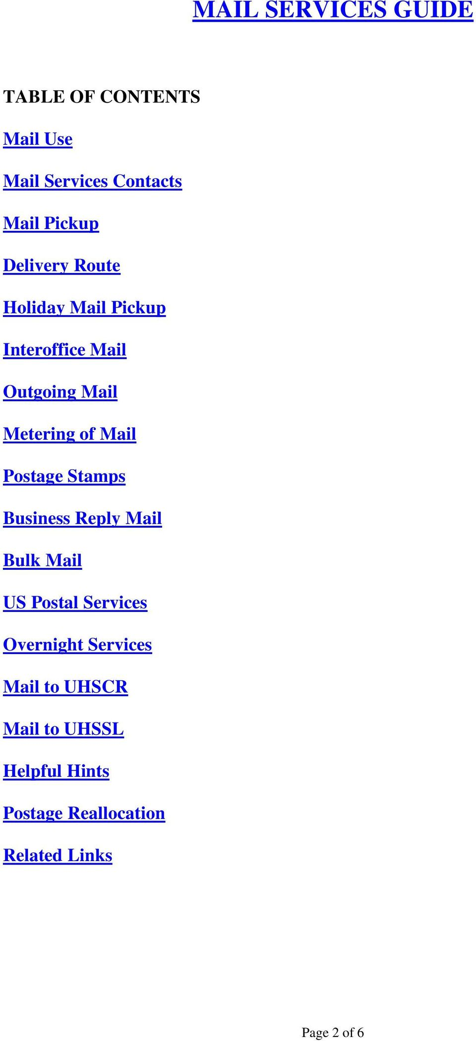 Postage Stamps Business Reply Mail Bulk Mail US Postal Services Overnight Services