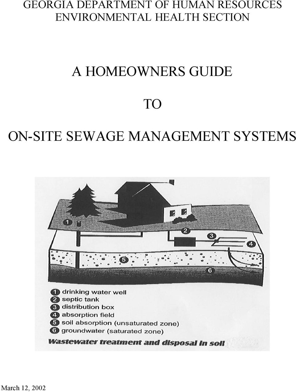 SECTION A HOMEOWNERS GUIDE TO