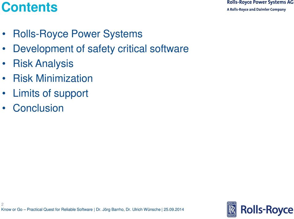 software Risk Analysis Risk