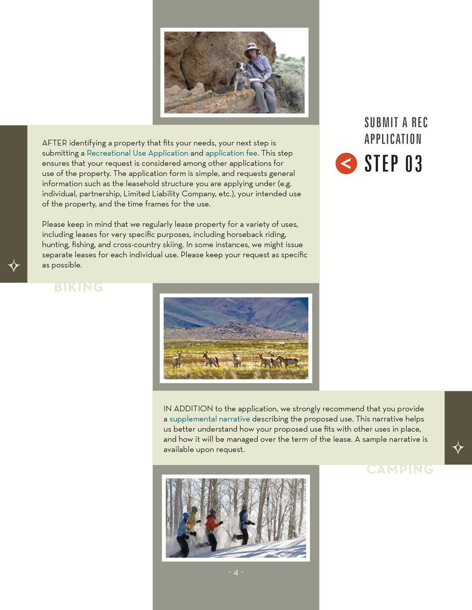 The application form is simple, and requests general information such as the leasehold structure you are applying under (e.g. individual, partnership, Limited Liability Company, etc.