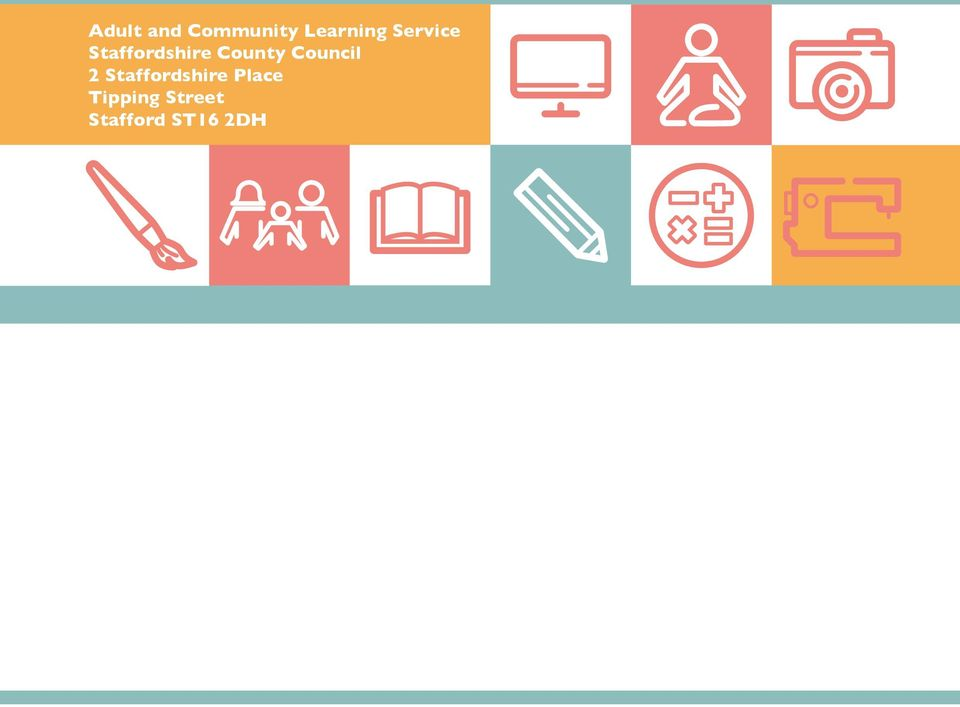 Has Adult and community learning service will