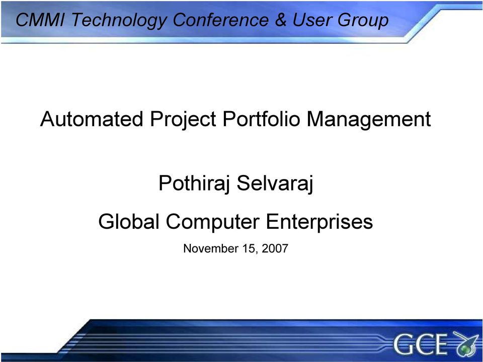 Management Pothiraj Selvaraj Global